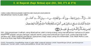 Al Qur'an Surat Al Baqarah (Sapi Betina) ayat (261)