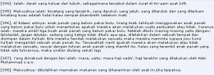 Keterangan Al Qur'an surat Al Maa'idah ayat (5)