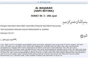 Al Quran Surat Al Baqarah Ayat 1