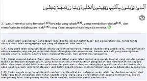 Al Quran Surat Al Baqarah Ayat 3